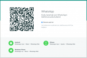 WhatsApp Web, WhatsApp Web nasıl kullanılır, iPhone, Android, Windows Mobile