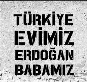 Türkiye Evimiz, Erdoğan Babamız