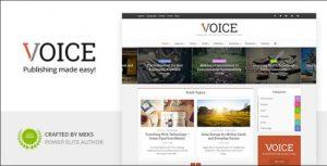 Wordpress Voice Tema