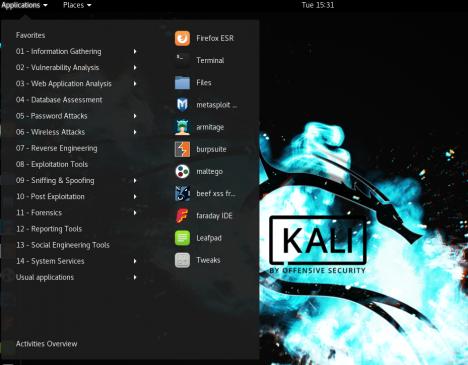 Kali Linux Kullanımı
